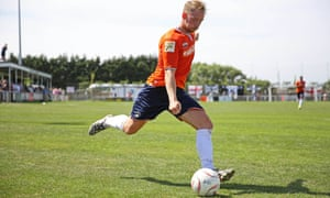 Luton Town's Danny Green during a pre-season friendly.