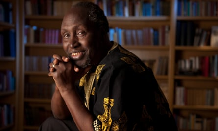 'If you really think you're right, you stick to your beliefs, and they help you to survive' ... Ngũgĩ wa Thiong'o