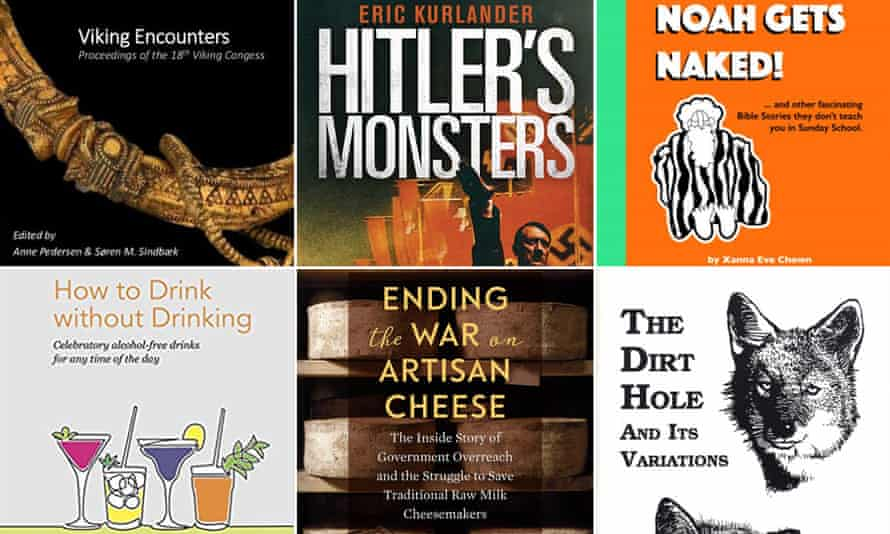 'A particularly strong shortlist' … the titles shortlisted for the 2019 Diagram prize.