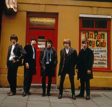 Rolling Stones on Tin Pan Alley