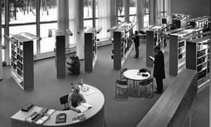 Local favourite … Töölö library, Helsinki, in 1970