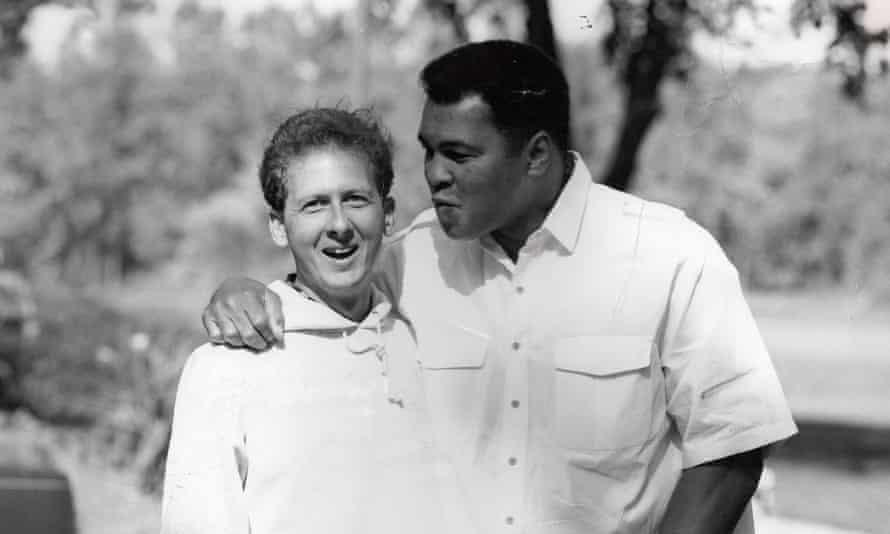 Davis Miller and Muhammad Ali.