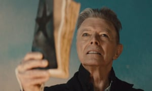 David Bowie in the video for Blackstar