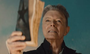David Bowie in Blackstar.