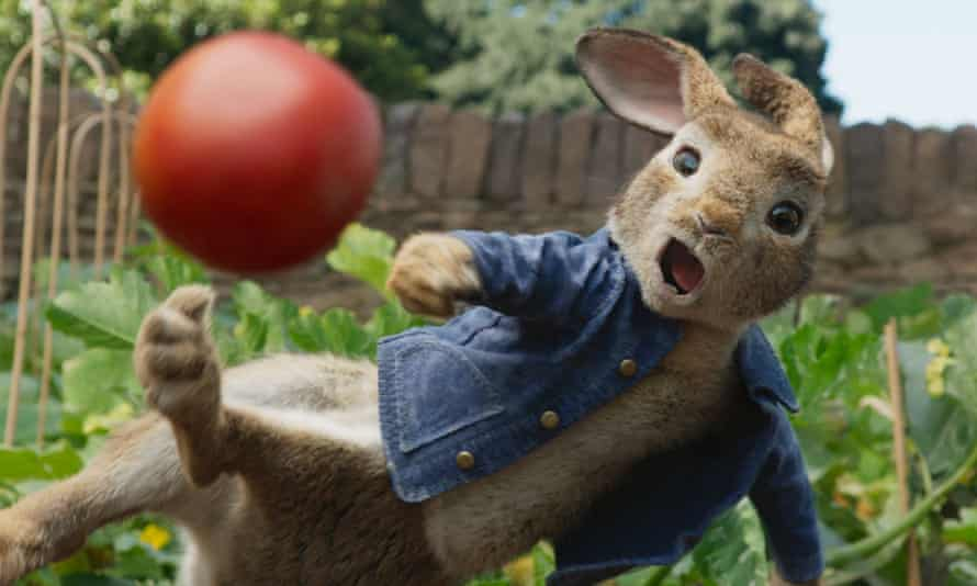 Peter Rabbit was released in the US last week and has had mixed reviews.