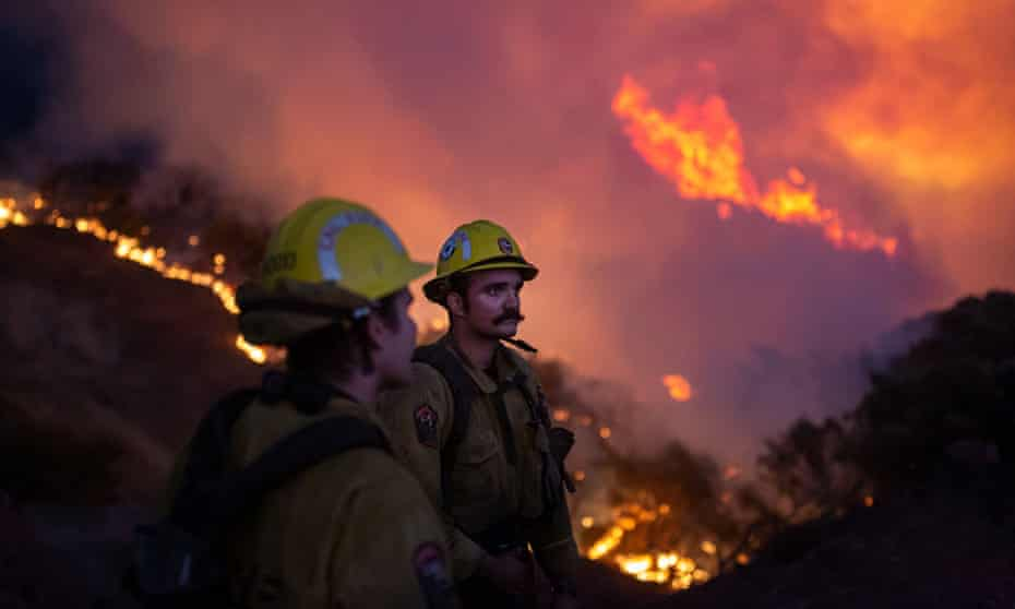 California's Caldor fire moves east toward Lake Tahoe as crews continue to battle the blaze.