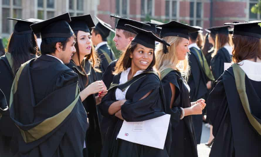 Graduates from Birmingham University.