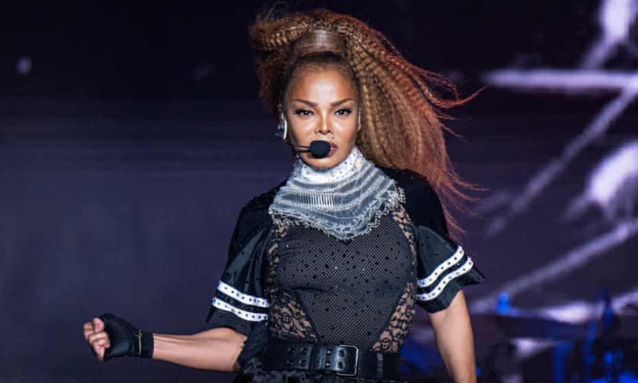 Janet Jackson at the 2018 Essence festival in New Orleans in 2018.