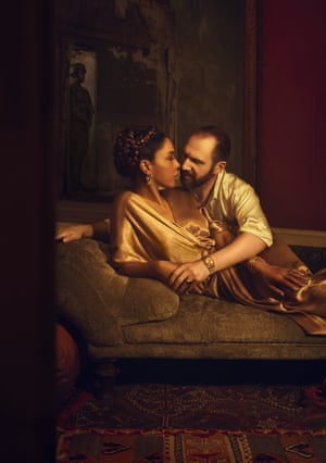 Sophie Okonedo and Ralph Fiennes star in the National Theatre's new production, directed by Simon Godwin.