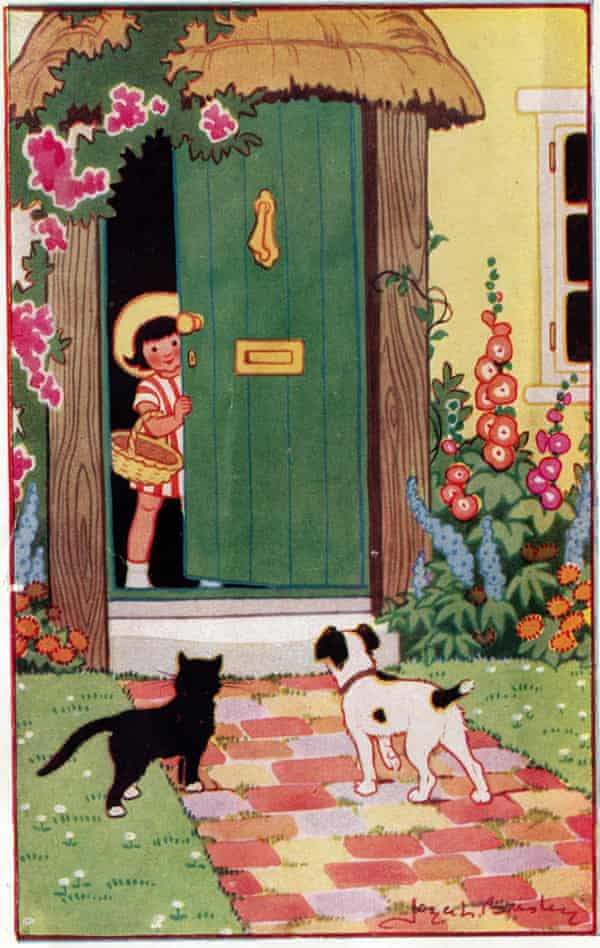 Lankester Brisley illustrated her own Milly-Molly-Mandy books.