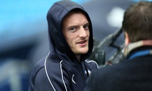 Jamie Vardy will be looking to add to his 18 goals this season when Leicester take on Arsenal.