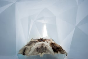 December 2015, ICEHOTEL: Fractus Skin design by Anja Kilian (Germany) and Wolfgang A Lüchow (Germany)