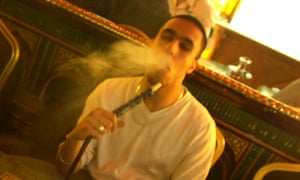 The number of shisha bars has trebled in recent years.