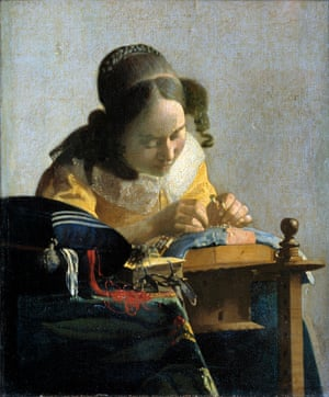The Lacemaker, c. 1658-1660.
