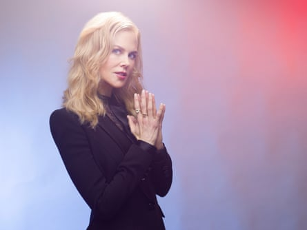Nicole Kidman photographed in London last month by Pal Hansen for the Observer New Review.