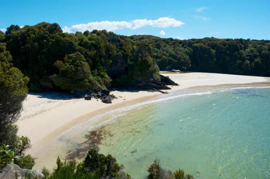 Oban, Southland, Stewart Island, New Zealand.