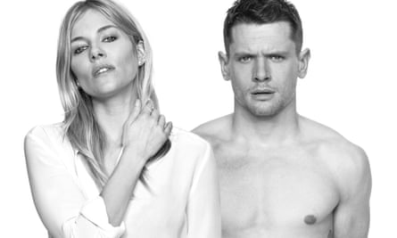 Jack O'Connell with Sienna Miller in Cat on a Hot Tin Roof