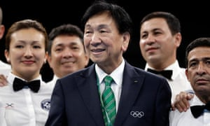 AIBA President Wu Ching-kuo