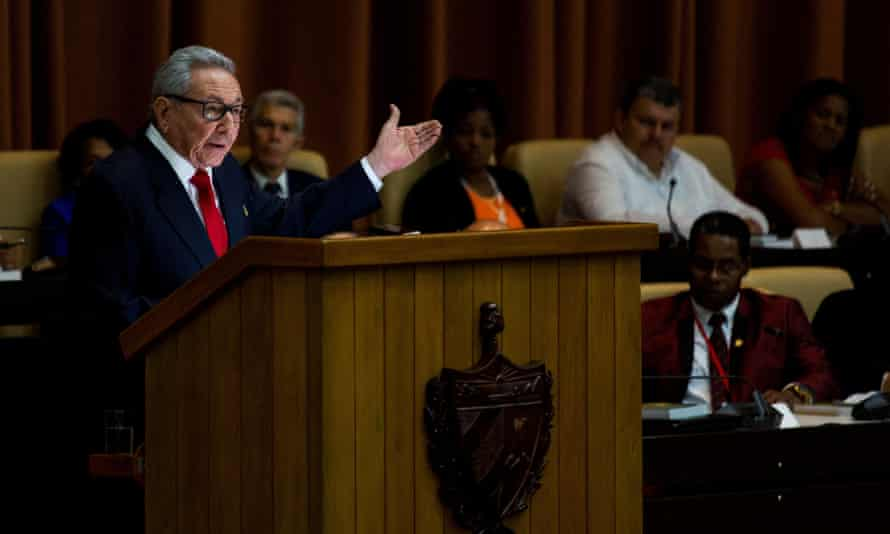 Raúl Castro: 'Cuba is being blamed for all evils, using lies and the worst kind of Hitlerian propaganda. We have told the US administration Cuba is not afraid and will continue building the future of the nation without outside interference.'