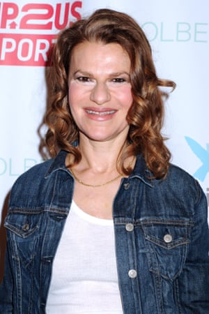 Sandra Bernhard in New York earlier this month
