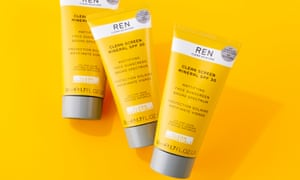 The vegan option: Ren's Clean Screen Mineral SPF 30