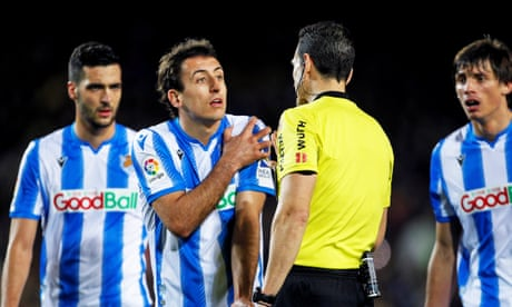 Spanish government steps in to prevent Real Sociedad returning to training