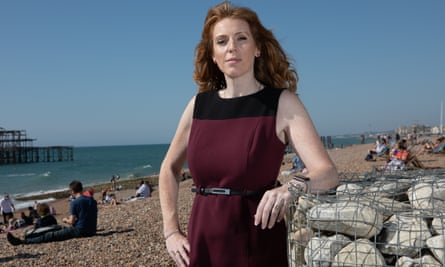 Shadow education secretary Angela Rayner in Brighton for the Labour conference.