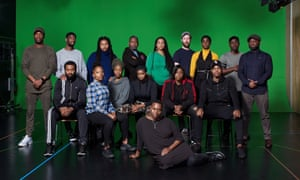 The cast of ear for eye, photographed this month by Suki Dhanda for the Observer New Review.