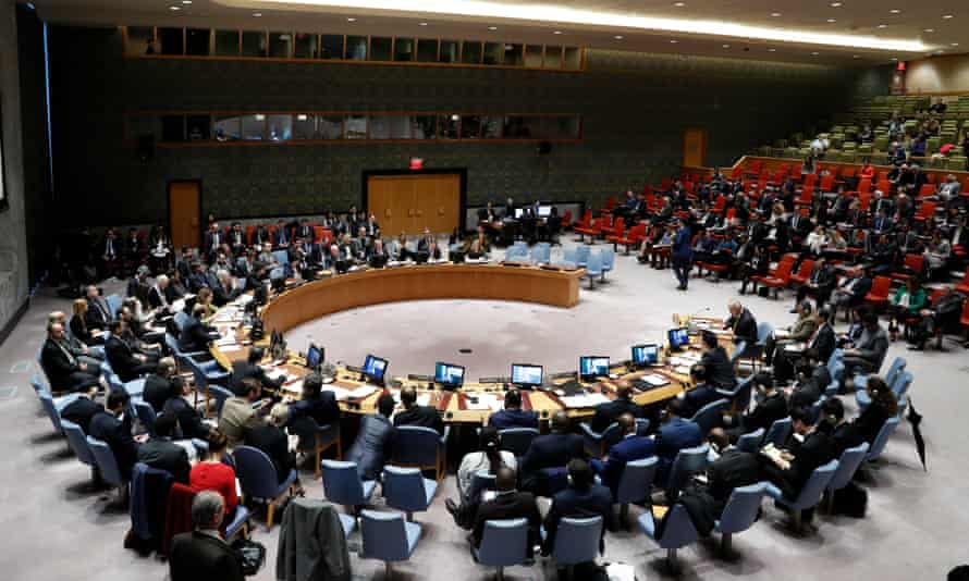 The UN security council failed to agree a resolution calling for a 30-day ceasefire in Syria at its meeting in New York on 22 February.