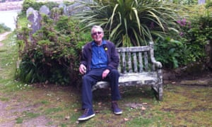Alex Clark's father, pictured in 2014 in Scilly.