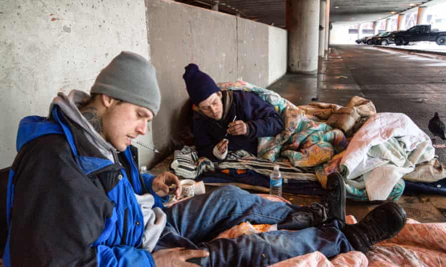 Heroin addicts in Chicago