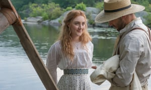 Luckily every performer is good or great … Saoirse Ronan and Corey Stoll in The Seagull.
