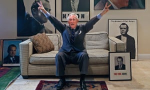 Roger Stone in his office in Fort Lauderdale, Florida.