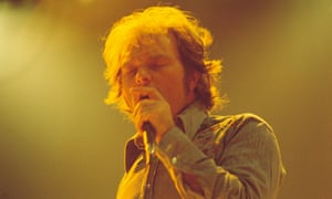 Van Morrison performing on The Midnight Special TV Show on 22 April 1977.