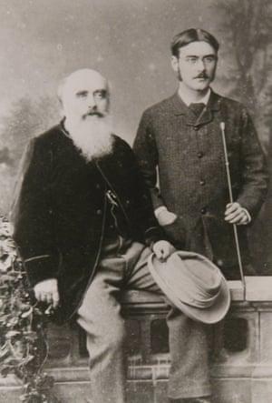 John Lockwood Kipling and son Rudyard