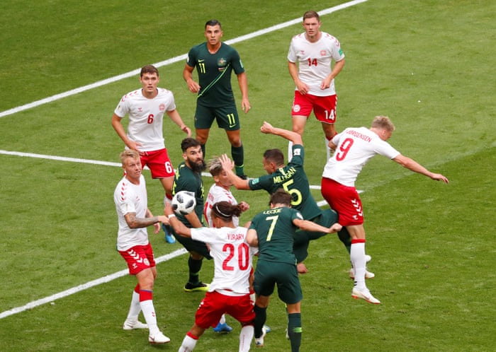 e221fdd2e Mile Jedinak s controversial penalty earns Australia draw against Denmark