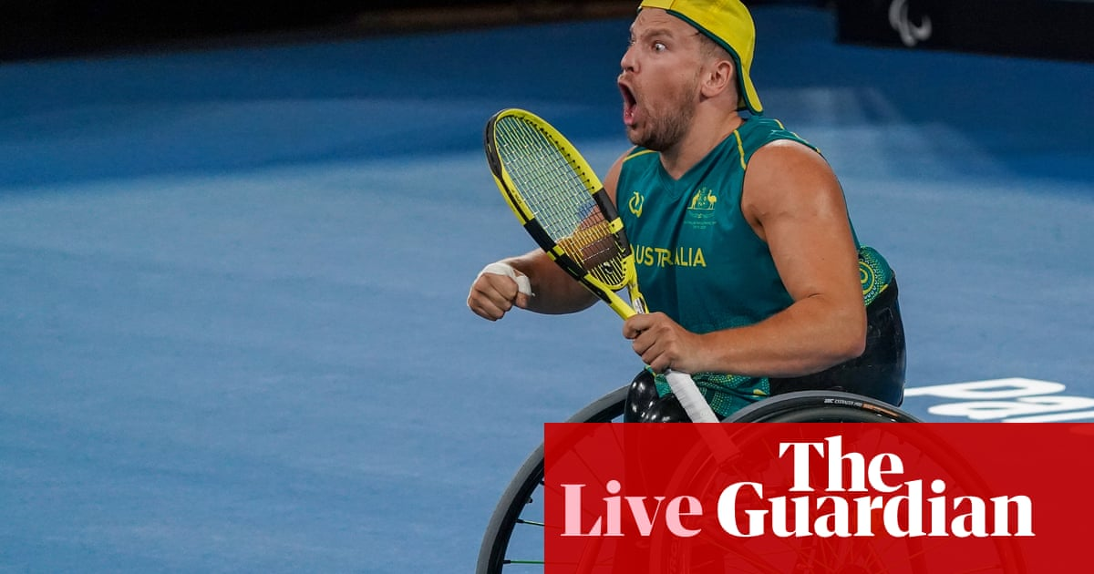 Tokyo Paralympics 2020: canoe, wheelchair tennis, shooting and more – live!