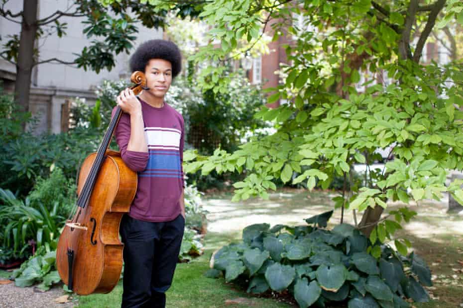 'My life has definitely changed': cellist Sheku Kanneh-Mason.