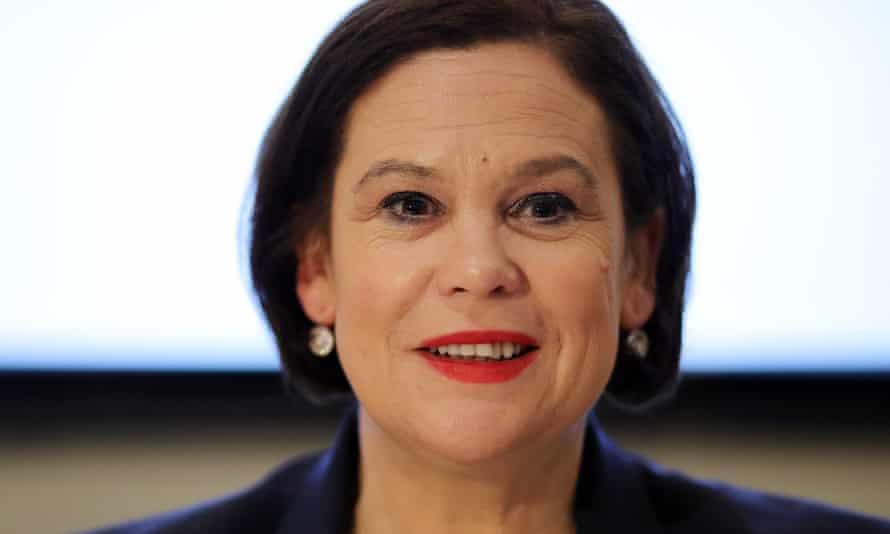 Sinn Féin President Mary Lou McDonald