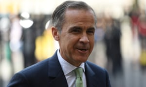 Canadian Mark Carney comes to the end of his term as Bank of England governor next summer.