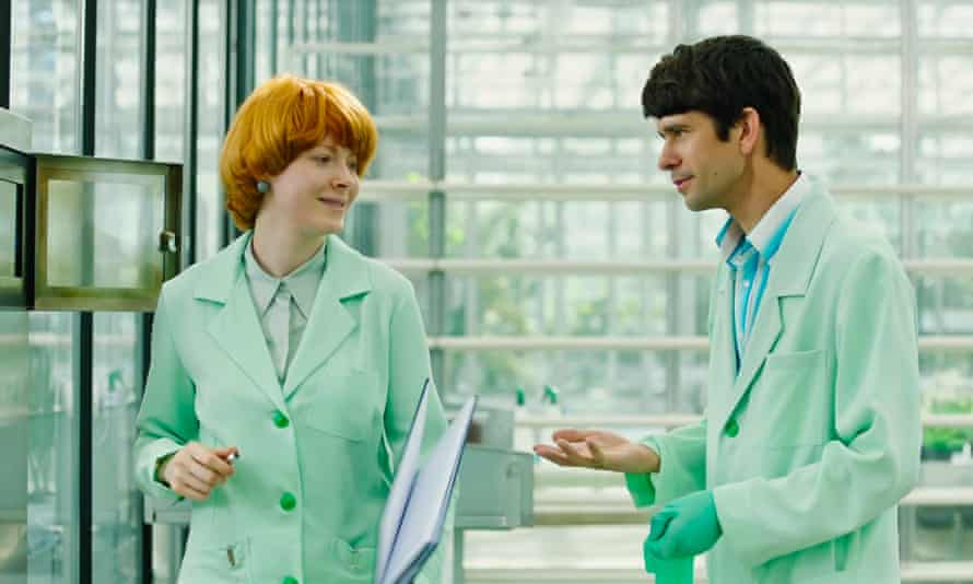 Stilted … Emily Beecham and Ben Whishaw in Jessica Hausner's Little Joe.