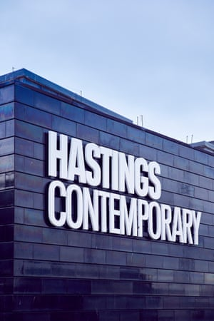 Exterior of the Hastings Contemporary