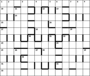 Azed 2459 grid