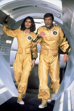Lois Chiles and Roger Moore in Moonraker