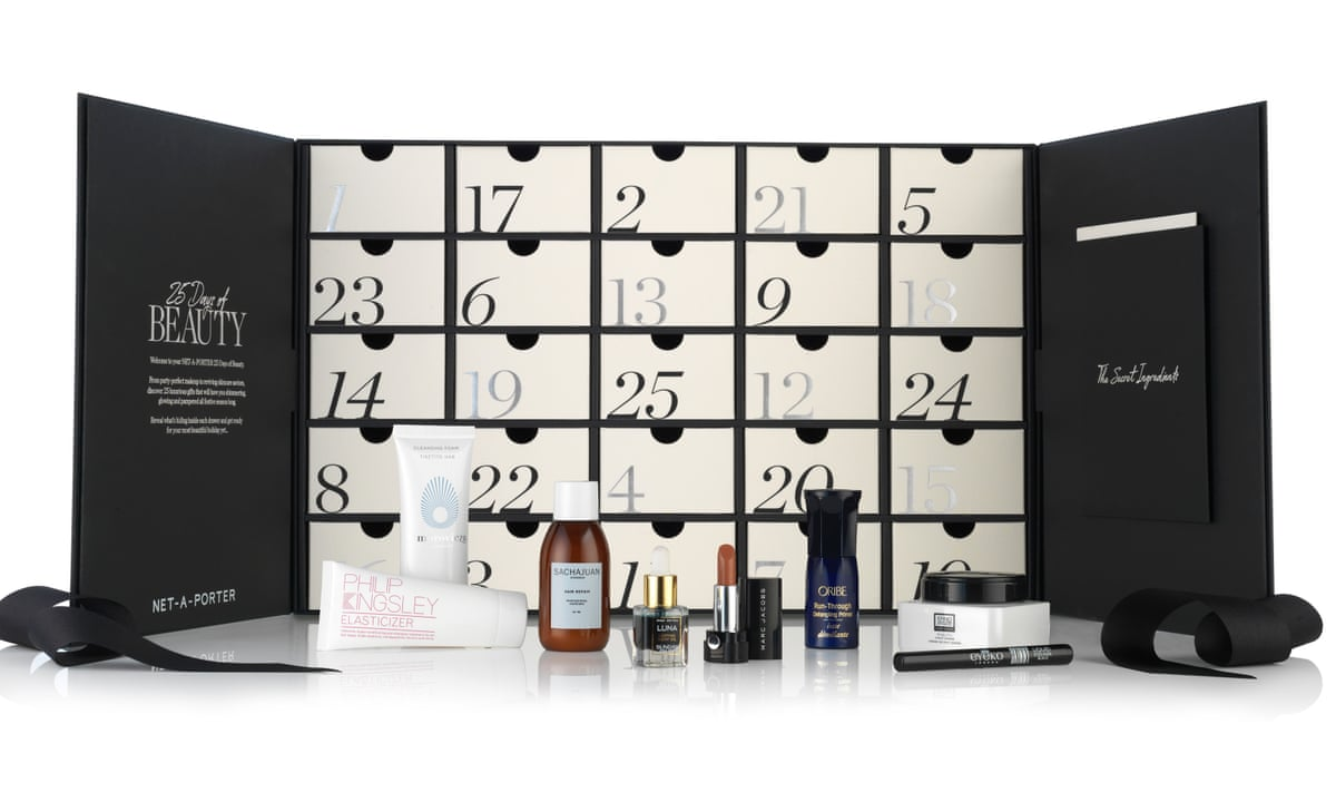 From Waiting Lists To Unboxing The Bizarre World Of Beauty Advent Calendars Fashion The Guardian