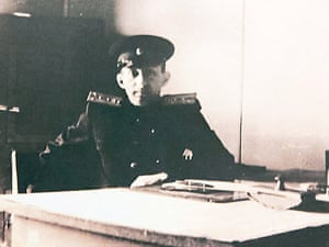 Boris Steckler during his Soviet army service in the 1940s.