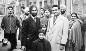 New families arrive to Southall in the late 60s.