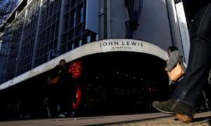 John Lewis storefront, Oxford Street, London