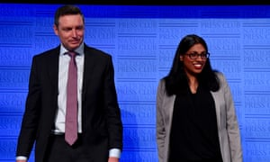 Australian Christian Lobby director Lyle Shelton and Liberal party vice-president Karina Okotel at the National Press Club in Canberra on Wednesday.