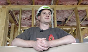 Dan McCready at a Habitat for Humanity event in September.